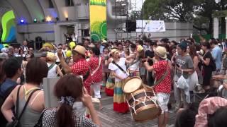 Фестиваль Бразилии в Японии / Festival Brasil Tokyo /1часть/.(Ежегодно в Японии проводятся - Дни Бразилии. Веселый праздник песен, танцев, бразильских коктейлей, пива,..., 2014-07-20T14:18:07.000Z)