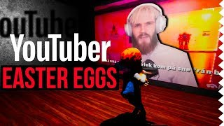 YouTuber Easter Eggs in Video Games! #1
