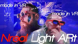 NREAL LIGHT Tutorial: Creating lively AR Art using VR Art & Unity by Fernland Academy & VRHuman