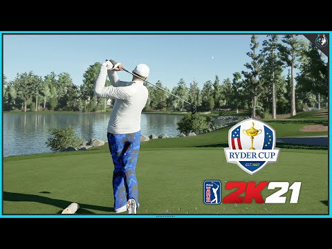 PGA TOUR 2K21 - Ryder Cup Course - First Round & Team Reveal