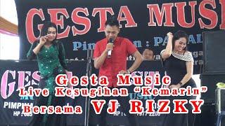 GESTA MUSIC TERBARU 2019 LIVE KESUGIHAN WITH VJ RIZKY (Pesawaran - Lampung)