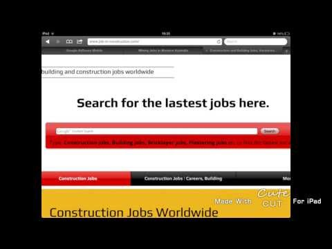 Construction Jobs Abroad