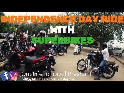 Meetup!!! After Ladakh Party & Independence Day Ride 2017 New Delhi.