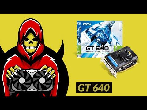 Geforce GT 640 Test In 7 Games