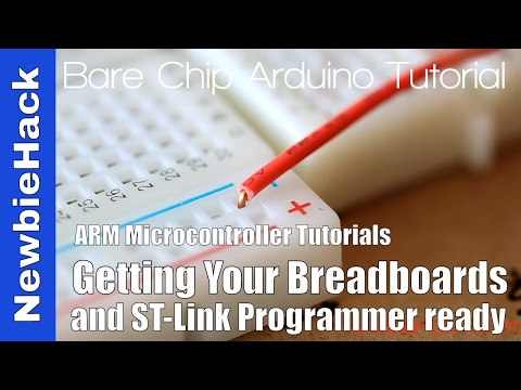 How to Connect the STM32 and ST-Link v2 for ARM Microcontrollers - Tutorial and First Circuit