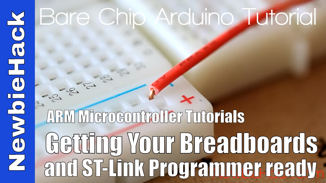 5  How to Connect the STM32 and ST-Link v2 for ARM Microcontrollers -  Tutorial and First Circuit