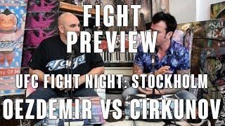 UFC Fight Night Stockholm: Oezdemir vs Cirkunov Preview