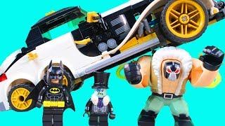 Lego Batman Movie Bane Toxic Truck Attack Set & Penguin Arctic Roller Take On Batman