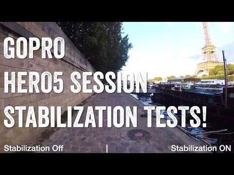 GOPRO HERO5 SESSION: Image Stabilization TESTS!