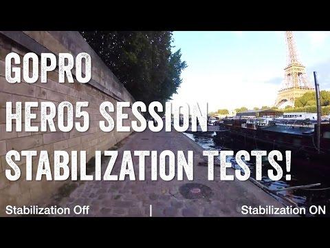 GOPRO HERO5 SESSION: Image Stabilization TESTS!