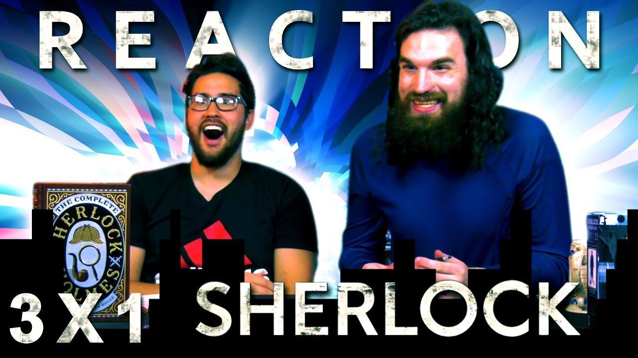 "Download Sherlock 3x1 REACTION!! ""The Empty Hearse"""