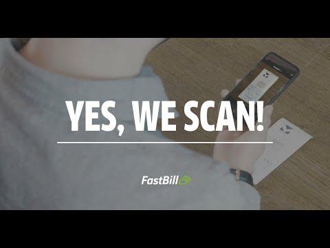 YES WE SCAN - Mit der FastBill Scan App