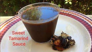 Imli ki chutney - Tamarind Sauce - Sweet  Sour