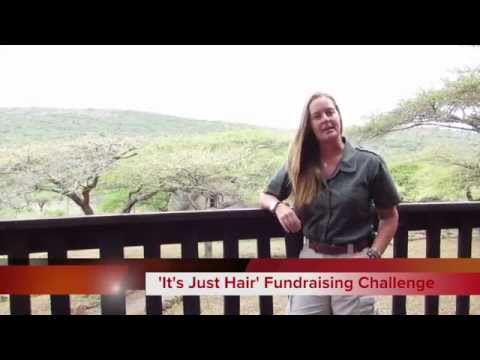 'ITS JUST HAIR' Save The Rhino Fundraising Challenge