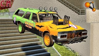 HIgh Jumps from steps Oldfullsize 1.5 version testing BeamNG Drive