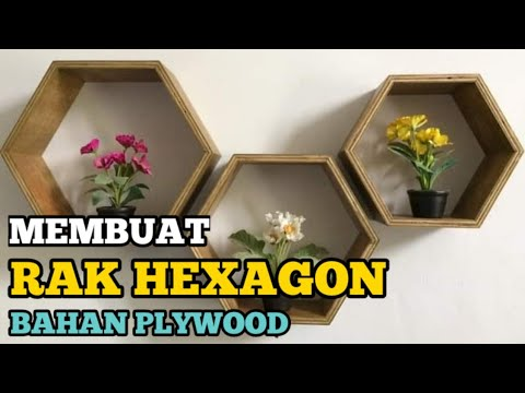 D.I.Y Hexagon Shelves