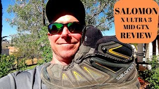 Salomon X Ultra 3 Mid GTX Boot (or Shoe) Review