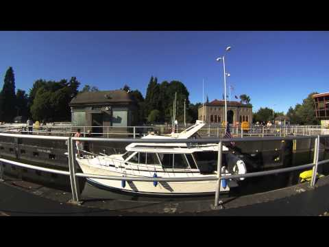 Ballard Locks Timelapse