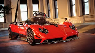Pagani Zonda F (HC) Customization & Race