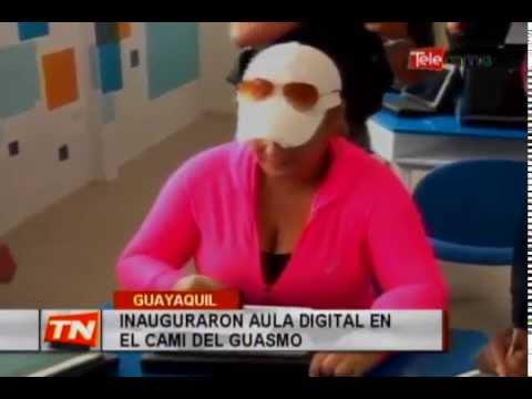 Inauguraron aula digital en El Cami del Guasmo