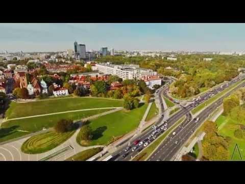 Warszawa okiem ArteMis - DRON