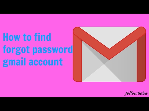 How To Find Gmail Account Forgot Word