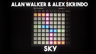 Alan Walker & Alex Skrindo - Sky // Launchpad MK2 Cover