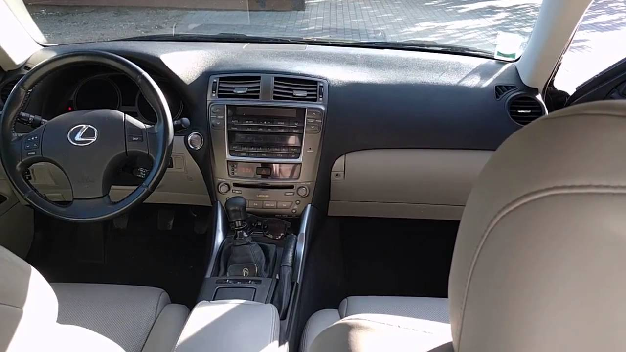 lexus is220d interior 2006 year youtube. Black Bedroom Furniture Sets. Home Design Ideas