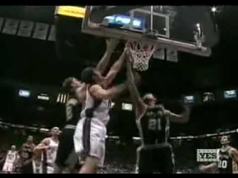 Nenad Krstic vs Spurs (2004-05 NBA regular season)