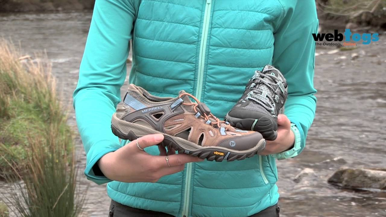 0ff3925cd82 Merrell All Out Blaze Aerosport & Sieve Footwear - Great performance in wet  conditions