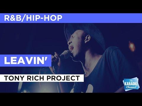 Leavin' : Tony Rich Project   Karaoke with Lyrics