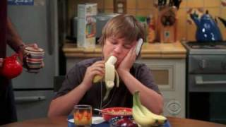 two and a half men how to eat a banana for dummies