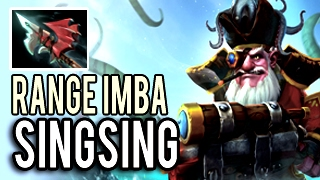 SingSing is NOT Human! Damage Range Imba Sniper with Full Item 24 Kills 8k MMR Dota 2