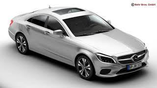 3D Model of Mercedes CLS Class 2015 Review