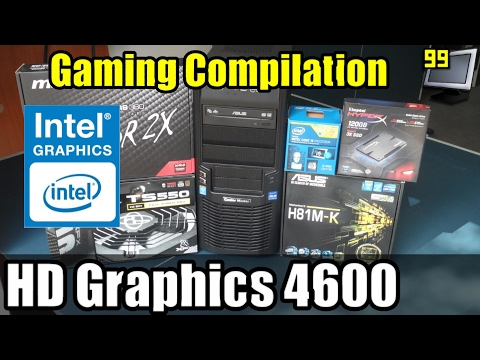 Gaming on Intel HD Graphics 4600 - 12 PC Games Tested (AC - BF4 - FC4 - GTA V & More)