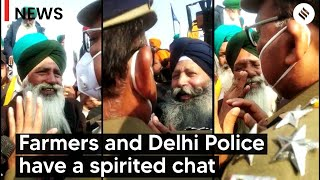 Farmers Tractor rally: Farmers tried to negotiate with Delhi Police