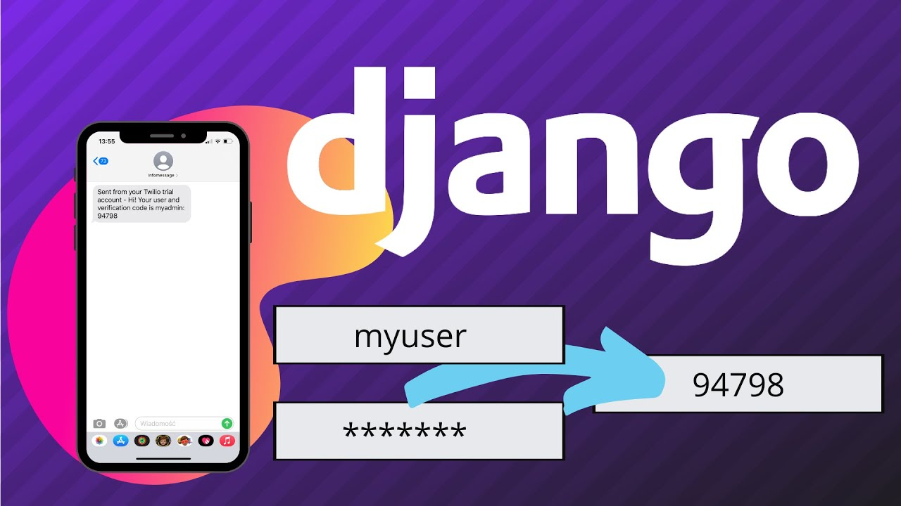 Simple Two Factor Authentication in Django with SMS Verification Code