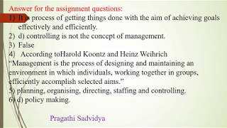 03 - Business Studies : Is management an Art, Science or Profession