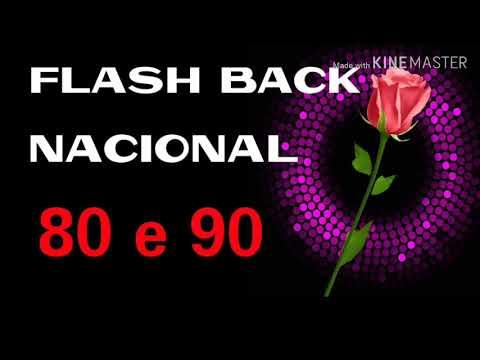 Flash Back Nacional anos 80 e 90 Grandes sucessos