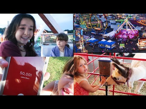 HIT 50K 😀 & GO TO THE EMPIRE STATE FAIR IN NY WHEN OHIO COUNTY FAIR TRAGEDY HAPPENED 😢 (Scary Vibe)