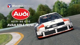 The 1989 Audi 90 IMSA GTO on iRacing / Available Now