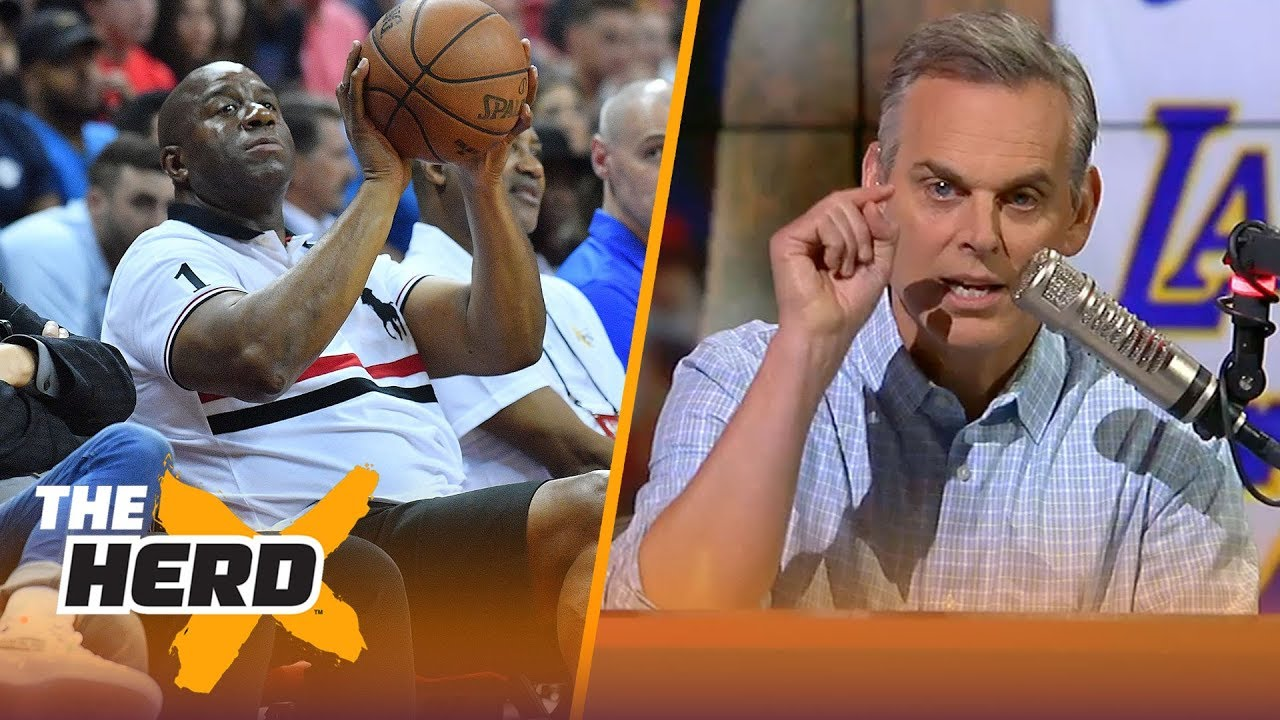 Colin Cowherd on L.A. embracing stars, Magic's signing of LeBron | NBA | THE HERD