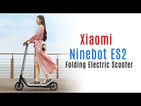 Ninebot ES2 India - Xiaomi (Mi & Redmi) Folding Electric Scooter 2018
