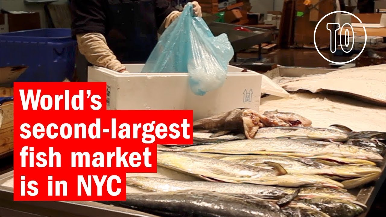 The world's second-largest fish market is in NYC