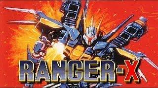 Ranger X aka Ex-Ranza (Sega MD/Gau Entertainment/1993) [720p]