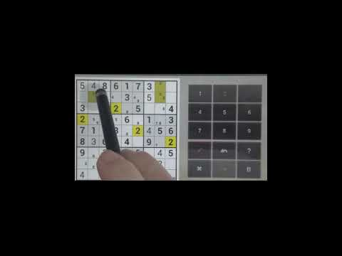 Sudoku Solver - Sudoku Easy Puzzle With Answers #2
