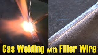 🔥 Gas Welding with Filler Wire