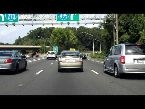 Capital Beltway (Interstate 495 Exits 43 To 35) Eastbound/inner Loop