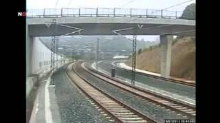فديو تصوير حادث القطار في اسبانيا مروع جدا