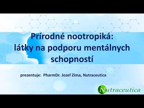 PharmDr. Jozef Zima - Prírodné látky na zachovanie a zlepšenie mentálnych schopností